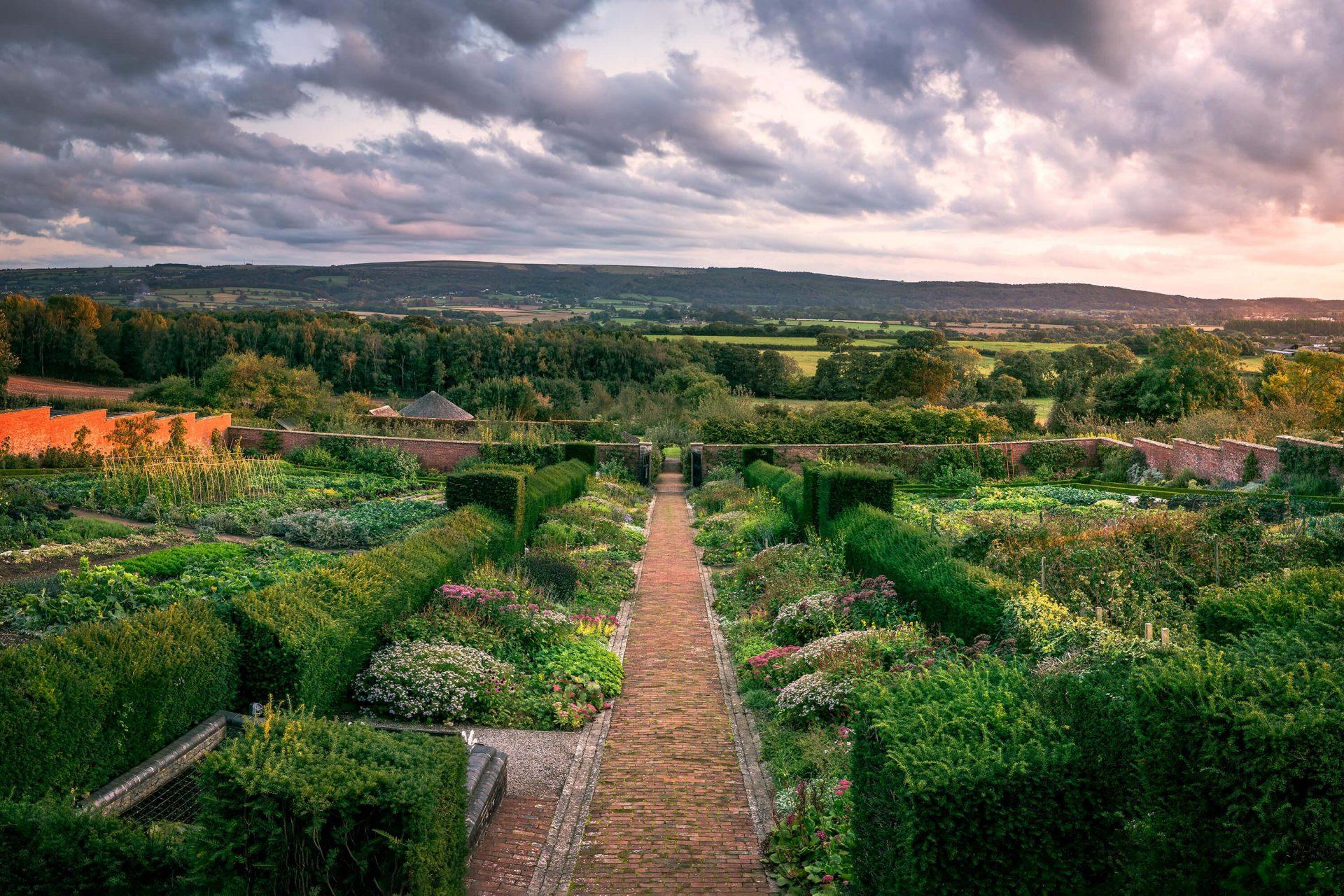 Walled Garden Panoramic